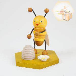 4711-111 Sammelfigur Biene mit Bienenkorb
