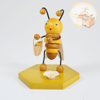 4711-112 Sammelfigur Biene mit Blumenkorb