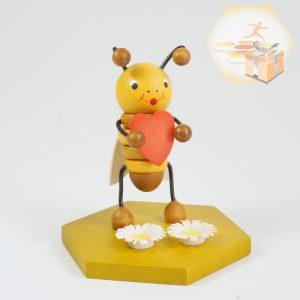 4711-113 Sammelfigur Biene mit Herz