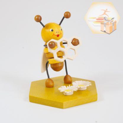 4711-114 Sammelfigur Biene mit Waben